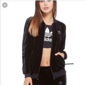 Adidas Velour track jacket